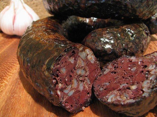 Готовим домашнюю кровяную колбасу в домашних условиях
