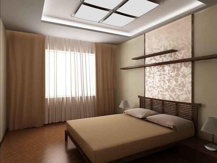 Ремонт в спальне своими руками эконом класса