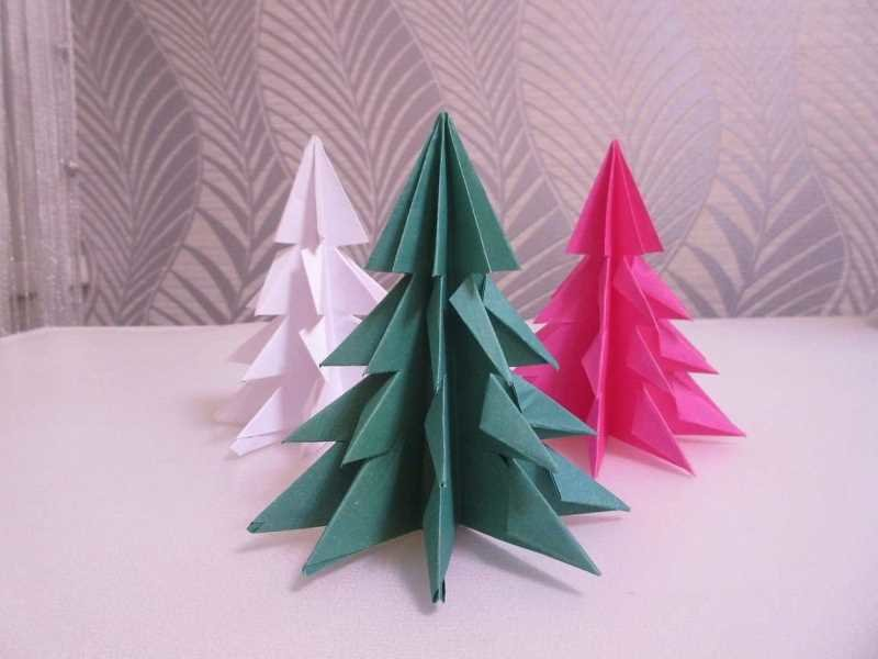 Новогодние игрушки своими руками из бумаги оригами видео