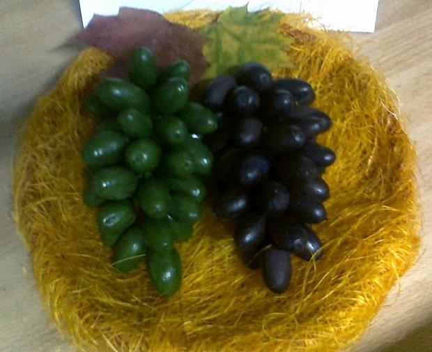 Поделки из винограда для детского сада фото 53