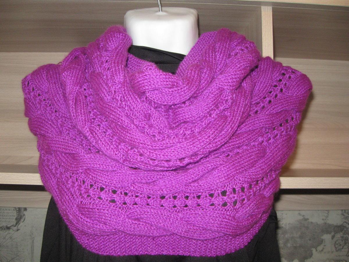 Снуд спицами для женщин: схемы вязания, новинки, узоры, размеры 29
