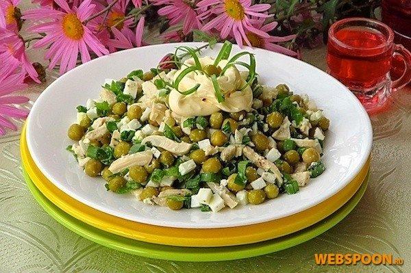 Рецепты салатов с консервами кальмаров