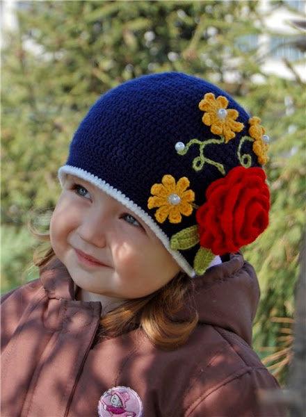 Вязание осенне весенней шапочки