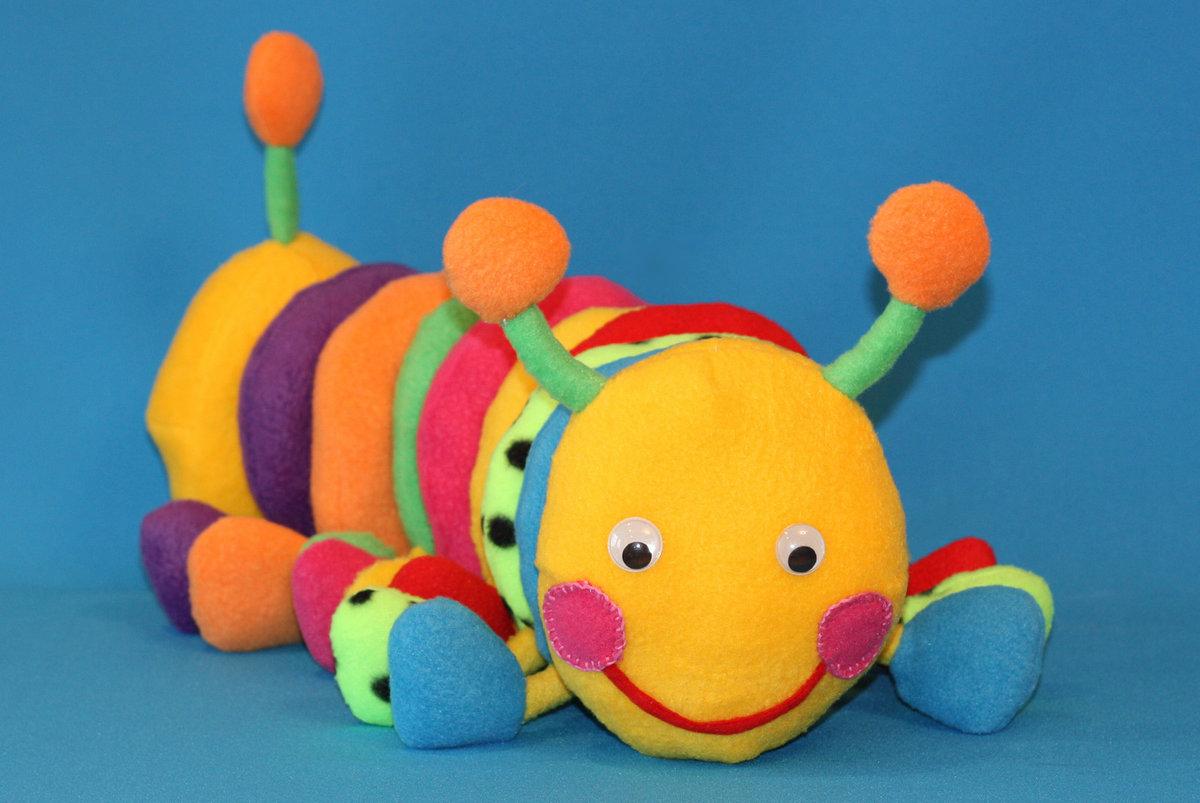 Мягкие развивающие игрушки для детей своими руками
