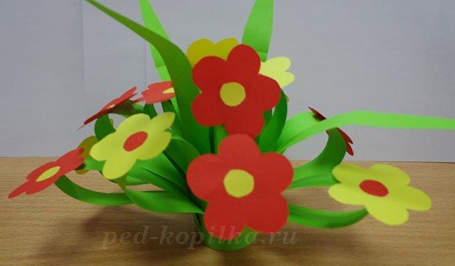 Цветок на 8 марта своими руками начальная школа