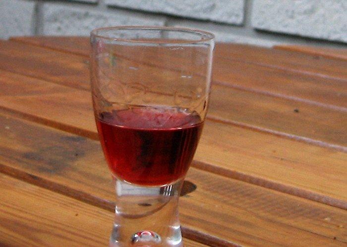 Вино из сока чёрной смородины в домашних  787