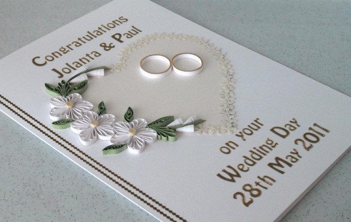 На день свадьбы открытки своими руками 21