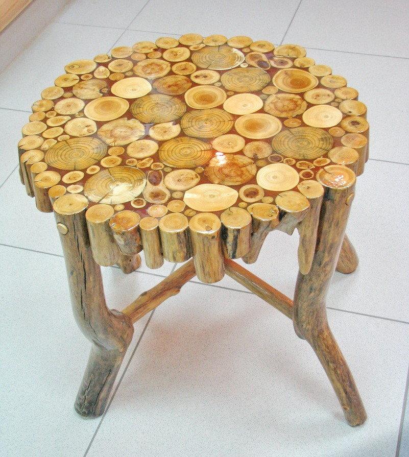Оригинальная мебель из дерева своими руками фото 14