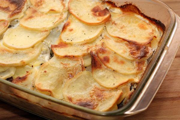 Как сделать запеканку из картошки с фаршем в духовке рецепт