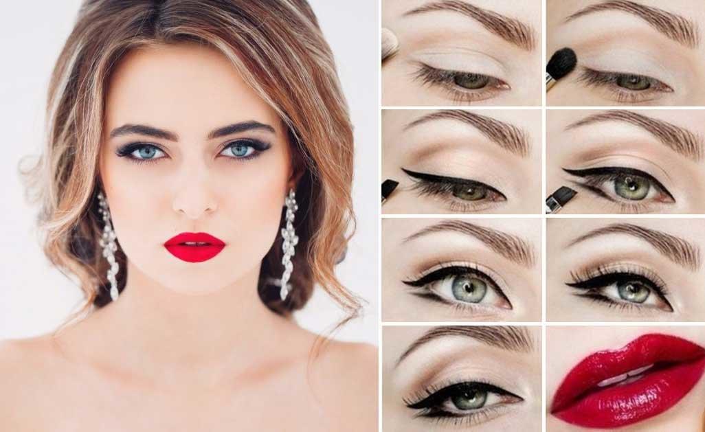 Сделать красивый макияж в домашних условиях пошагово 522