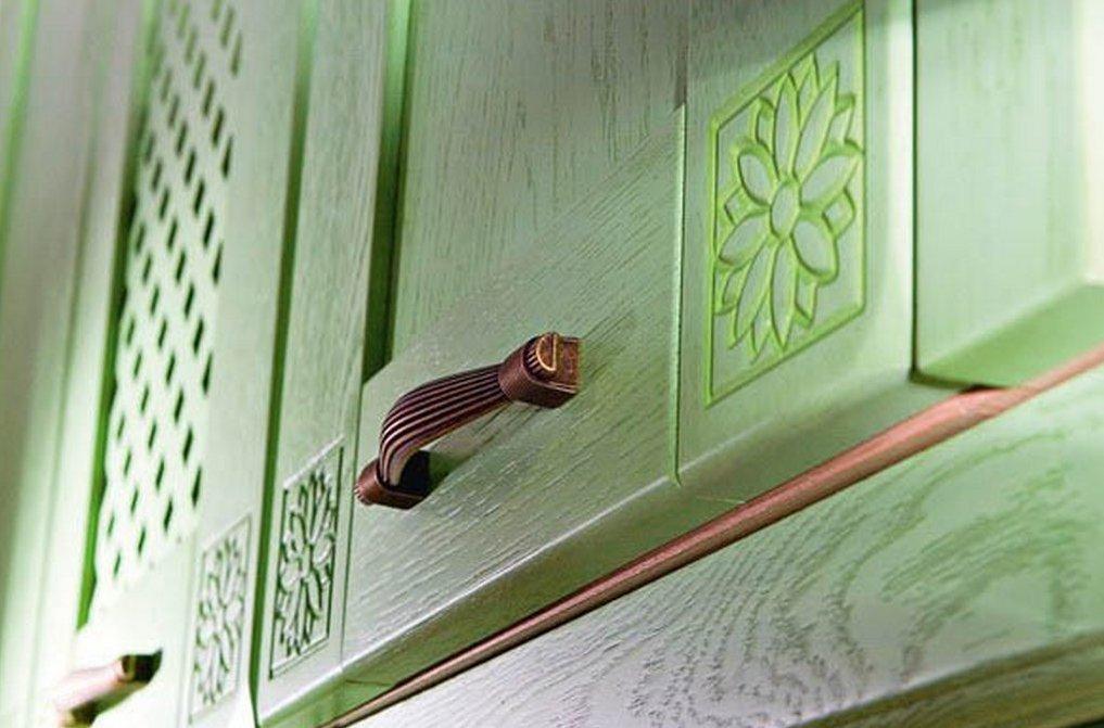 Как перекрасить фасад кухни из мдф своими руками 90