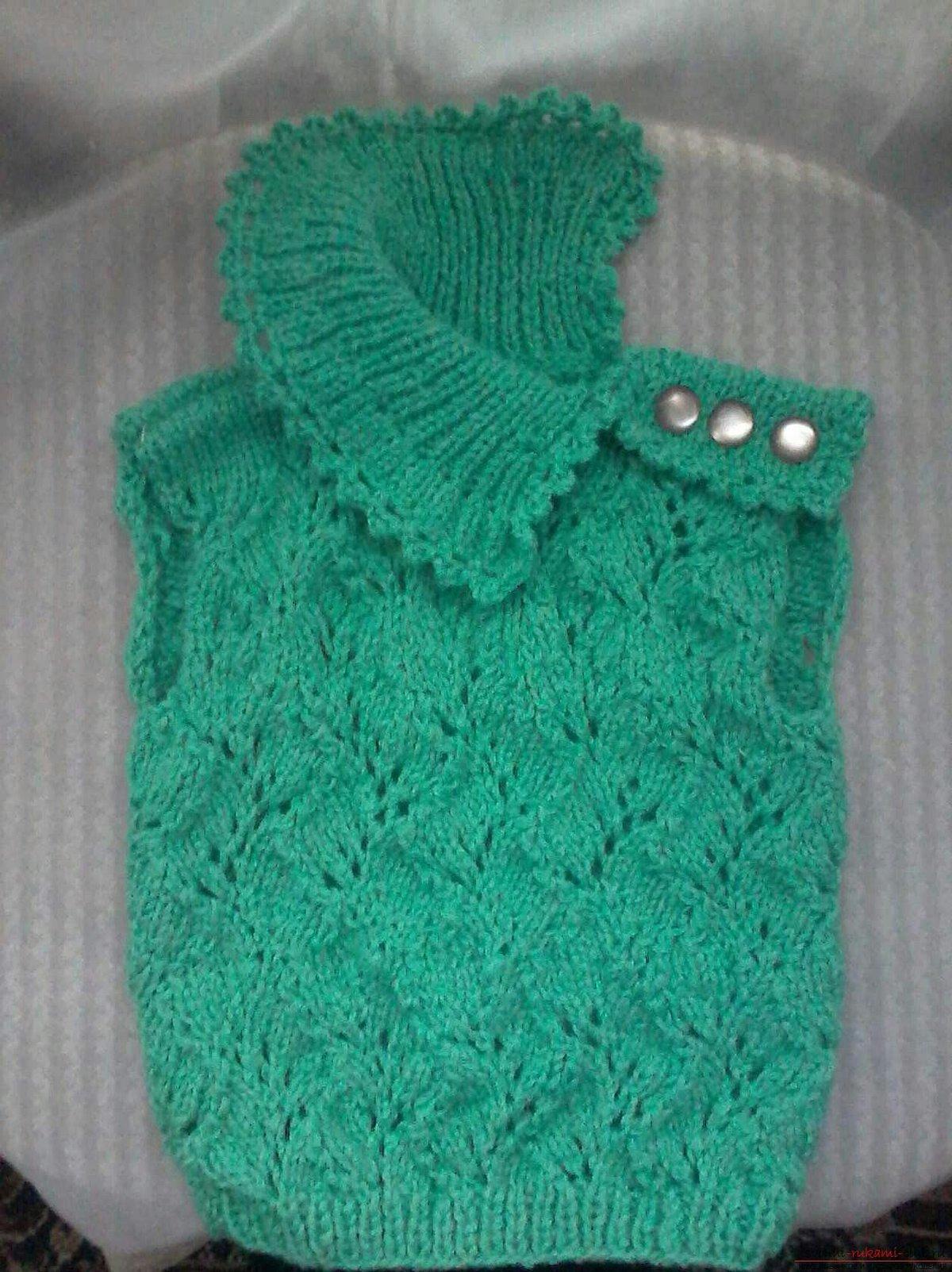Берсанова вязание детских вещей спицами