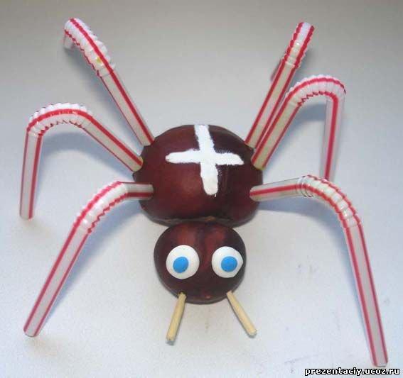 Как сделать паука из диска