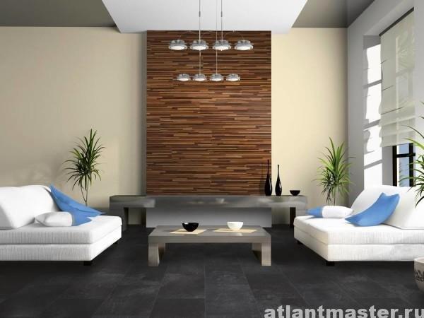 Фото дизайна ламината на стене