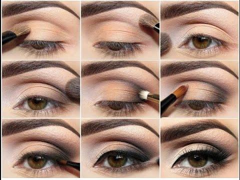 Накрасить глаза красиво фото пошаговое