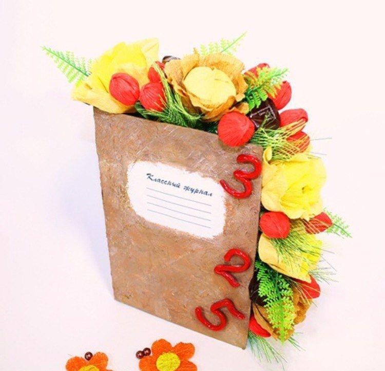 Цветочная композиция из живых цветов своими руками на день учителя 39
