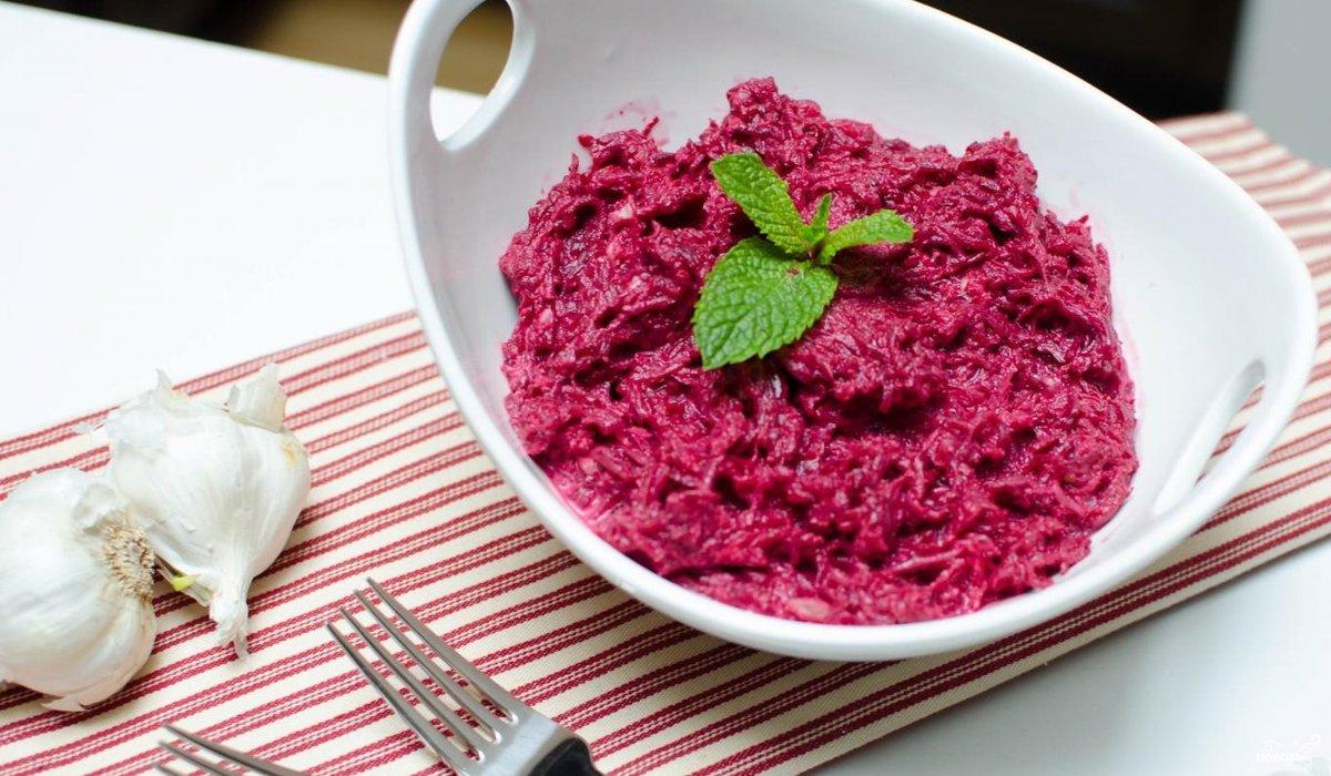 Салат из свеклы и изюма рецепт очень вкусный