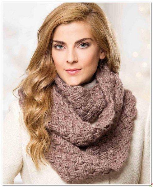 Узор для шарфа-хомут