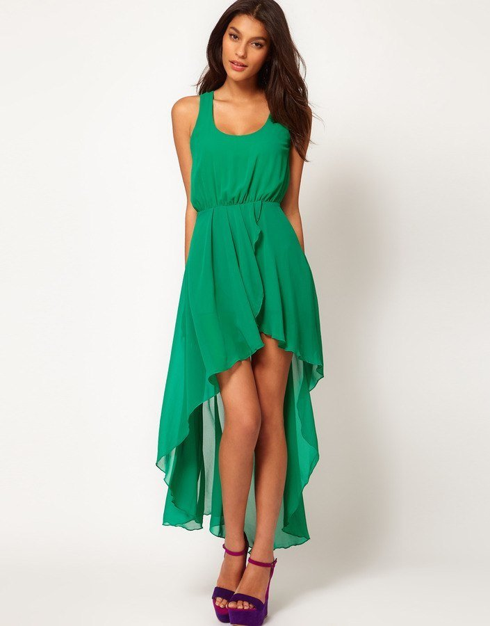 Платья спереди короткое сзади длинное летнее
