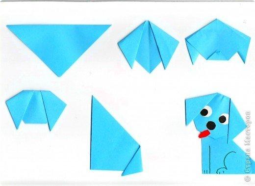 Оригами пошагово с для детей