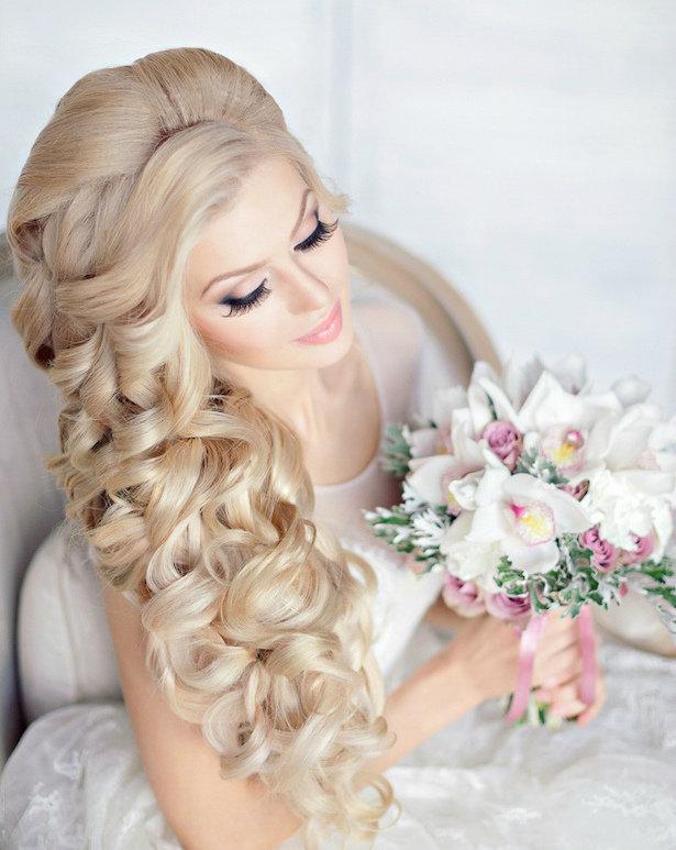 Самые красивые свадебные причёски в мире