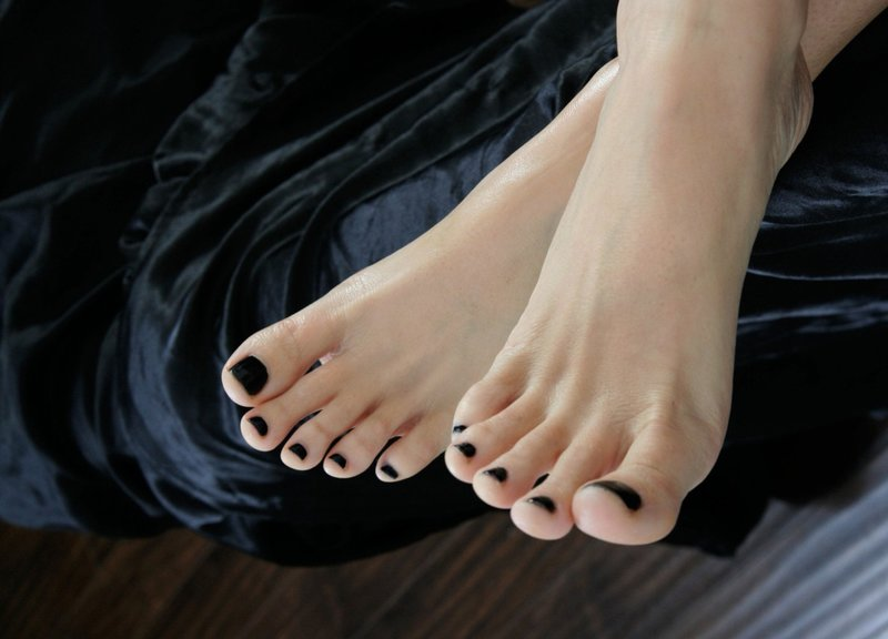 beautiful feet photo черное № 27832