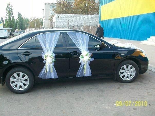 Мастер класс свадебные украшения на машину