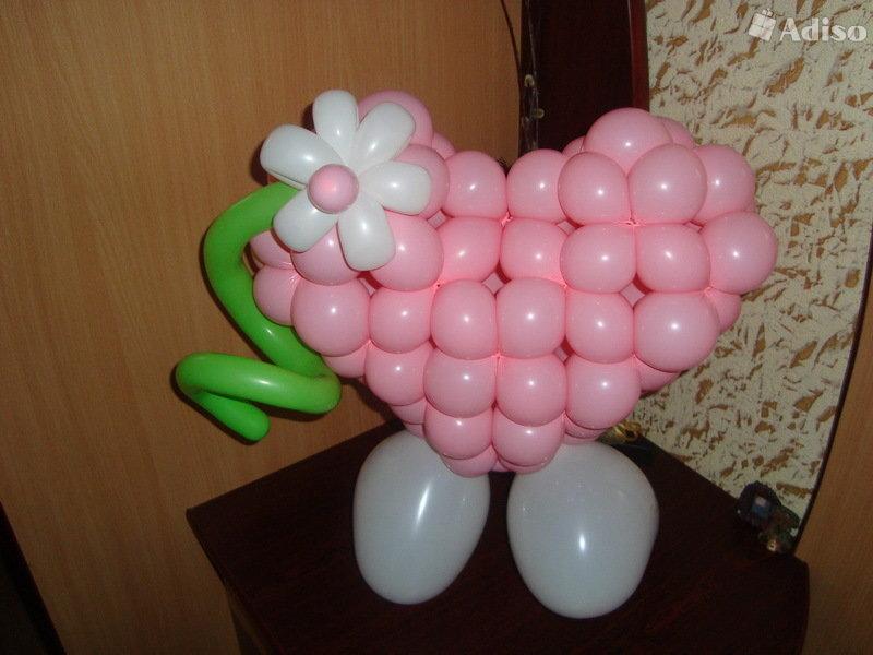 Поделки на день рождения из воздушных шаров своими руками 56