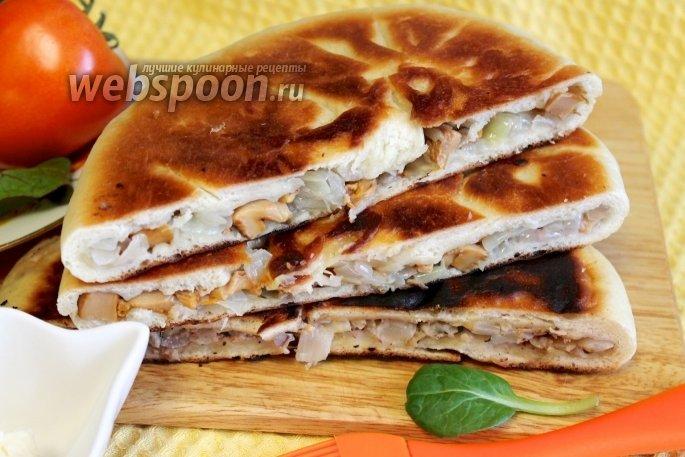 Пирог осетинский с капустой рецепт с пошагово