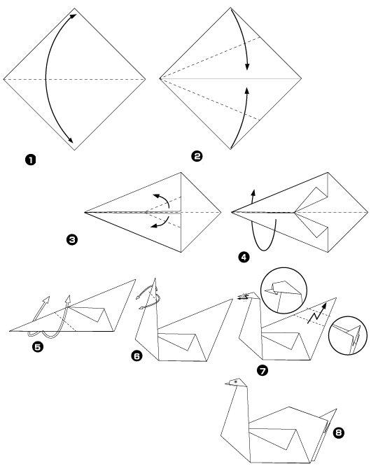 Оригами своими руками схемы поэтапно
