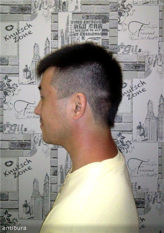 Причёски в домашних условиях мужские