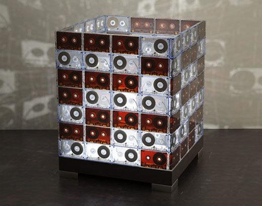 Поделки из кассетной ленты поделки