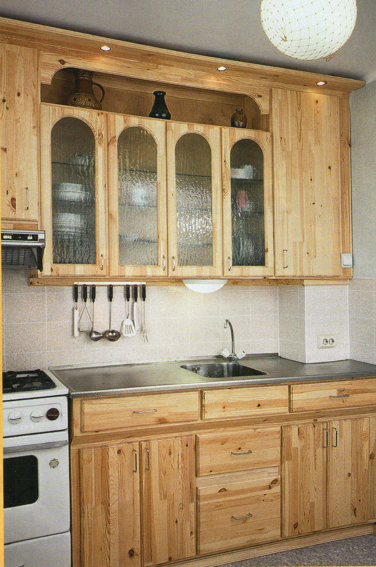 Кухонный гарнитур фото своими руками 984