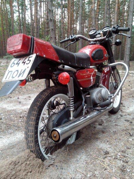 Тюнинг мотоцикла минск своими руками видео