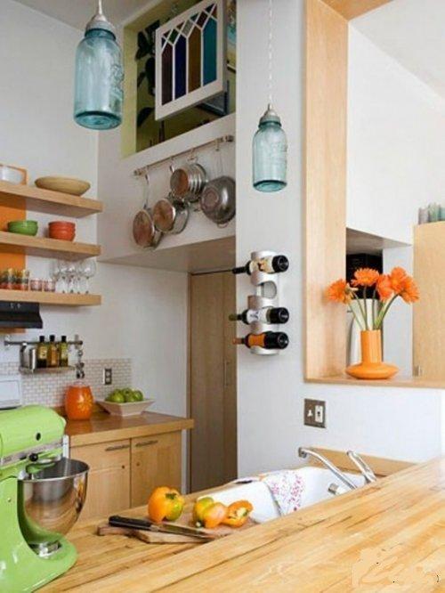 Креативный дизайн кухни своими руками 85
