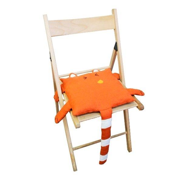 Сшить подушку для стула своими руками 8