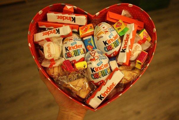 Как сделать сладкие подарки 1