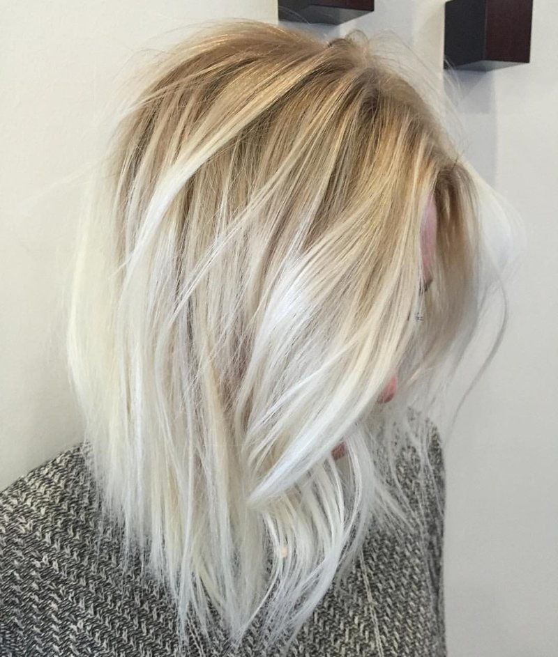 Модные новинки окрашивания коротких волос
