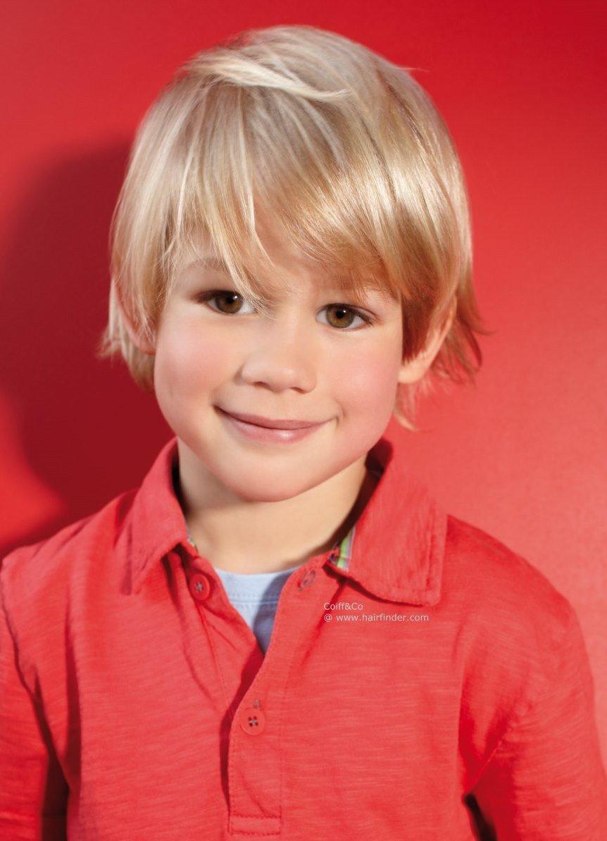 Причёски на средние волосы для мальчиков фото