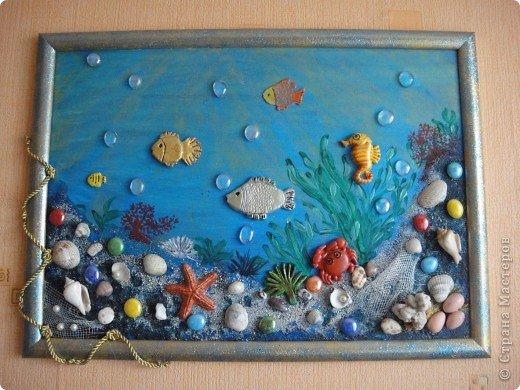 Поделки морская тематика