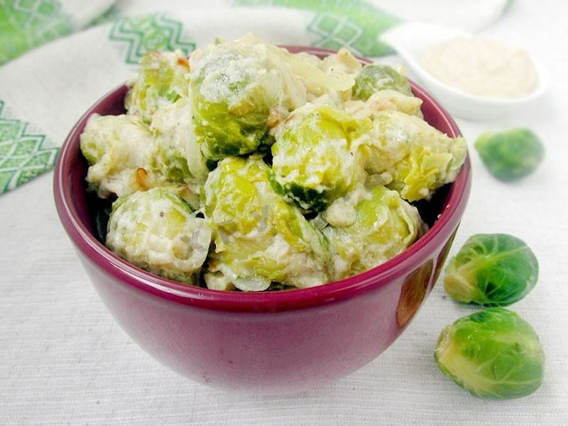 Салат из брюссельской капусты рецепт с