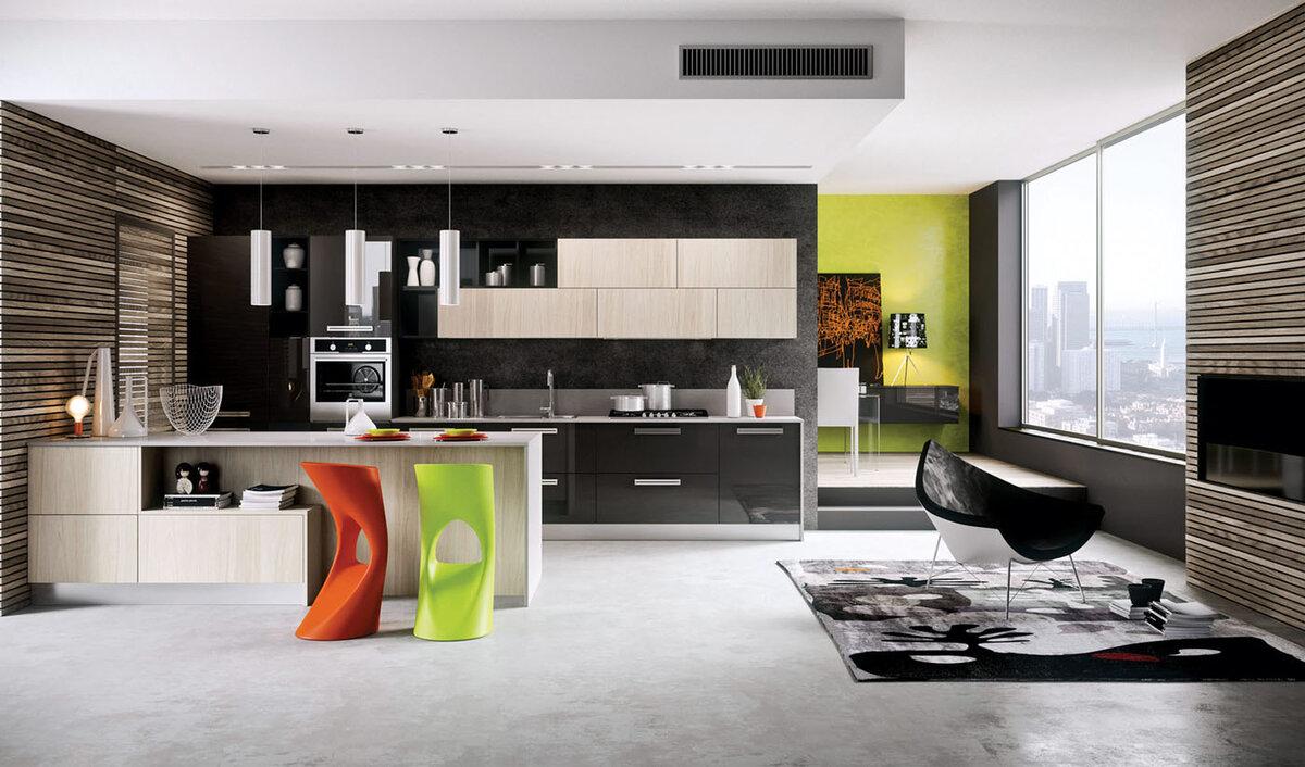 Фото дизайн кухни 3х6