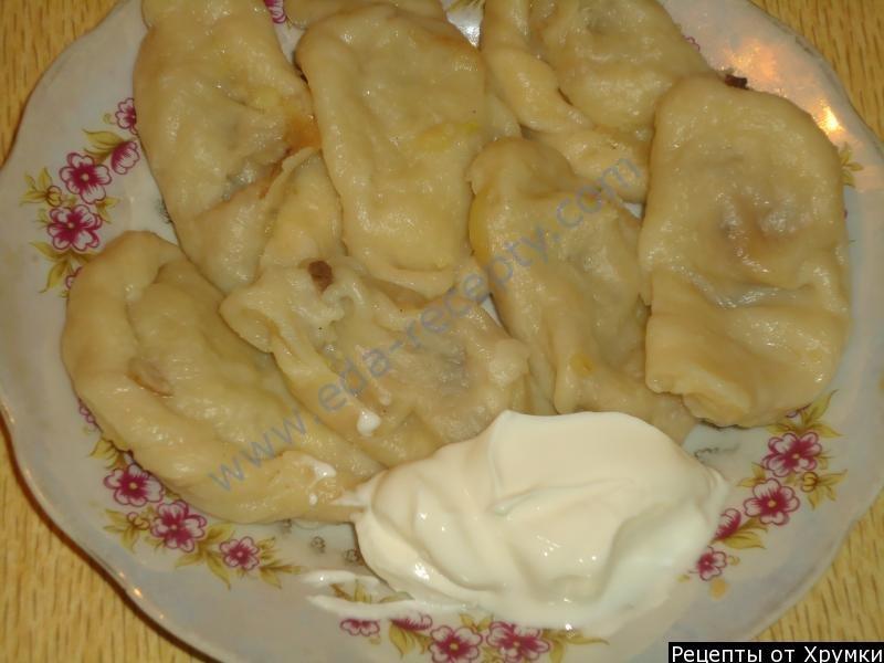 Рецепт вареников с картошкой пошаговый рецепт