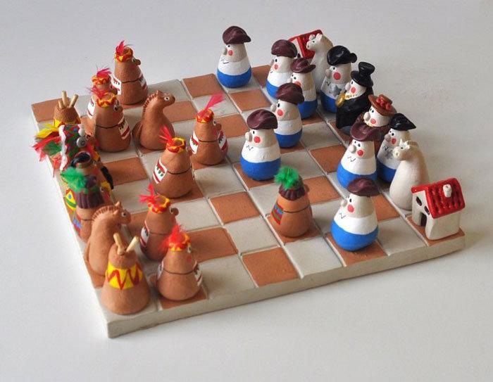 Как можно сделать своими руками шахматы 4