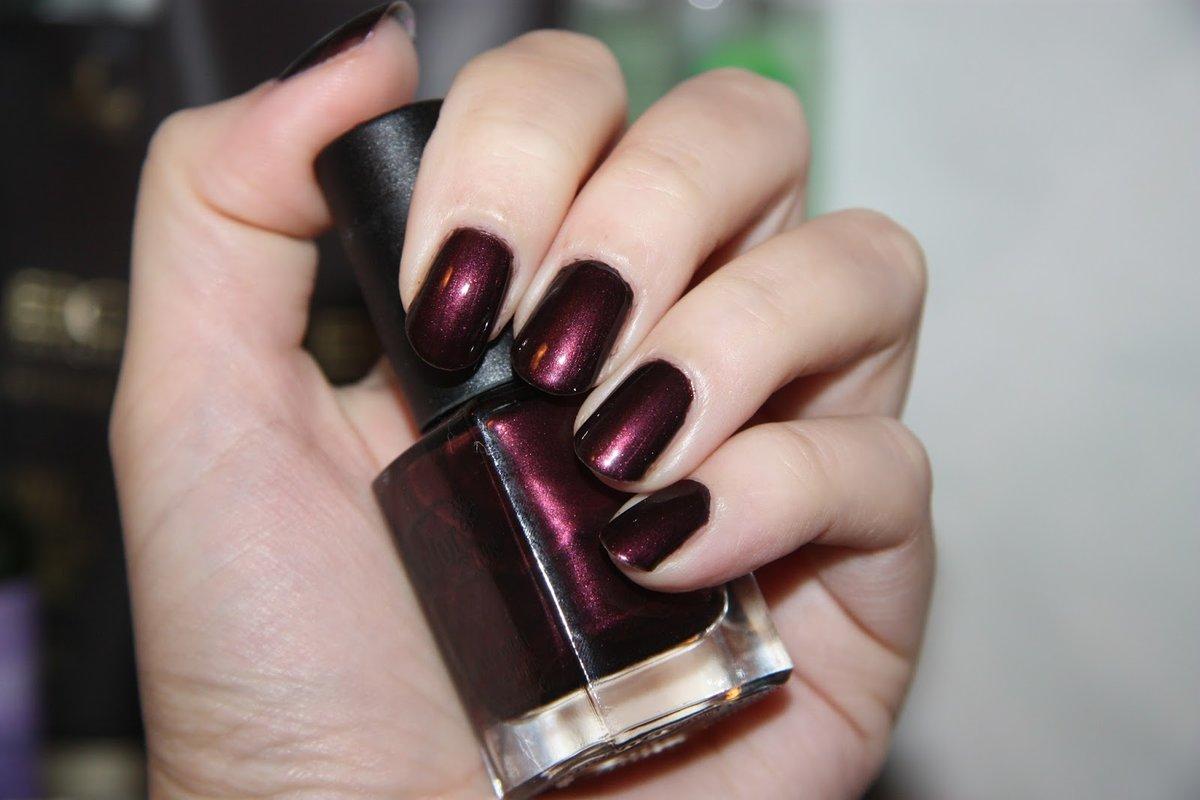 Бордовый - модный цвет лака для ногтей - Women s Health 24