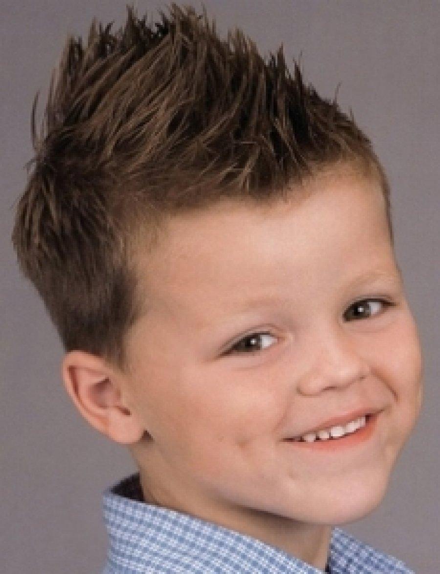 Прическа для мальчика 4 года с полосками