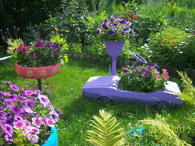 50 идей для Вашего сада и огорода. 2 часть. Обсуждение на LiveInternet - Российский Сервис Онлайн-Дневников идеи для сада и огор