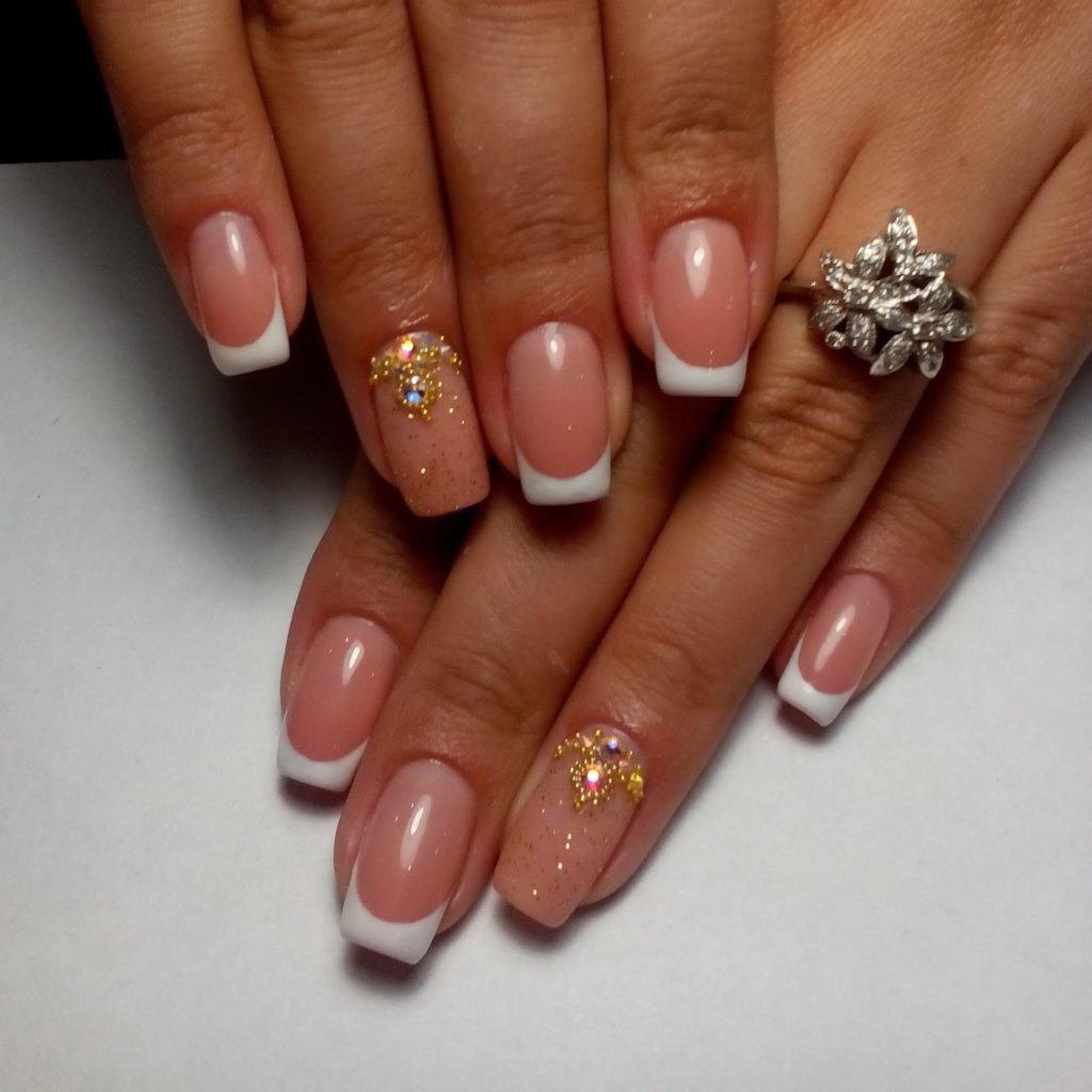 готический дизайн ногтей фото