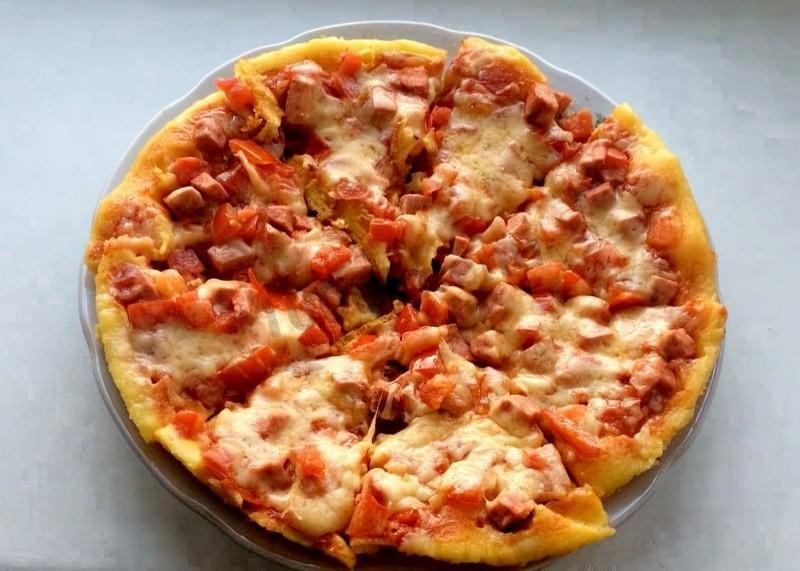 Домашняя пицца простая рецепт с пошагово