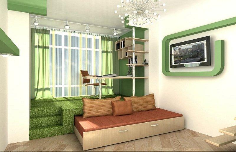 Дизайн интерьера с подиумом дизайн